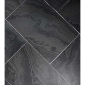 Skalūno plytelės Monte Black šlifuotos 30x60x1cm, (1vnt=0,18m2)