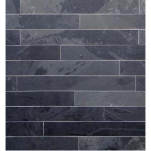 Skalūno plytelės Monte Black (Natural) 7x60x1cm, (1vnt=0,042m2)