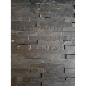 """Panelė """"Black Matt"""" 15x60 cm, (1pak-0,72m2)"""