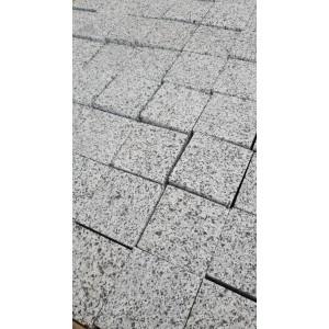 Trinkelės granito degintos zebra 10x10x5 (KP), m2