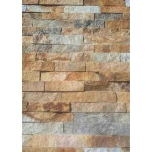 """Akmens panelė """"Brown"""" 15x60 cm, m2"""