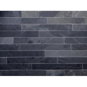 Skalūno plytelės Monte Black (natural) 6x60x1cm, m2