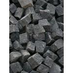 Trinkelės granito juodos ~10x10x5 cm, kg (Bigbag >1t  170€/t.)