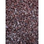 Raudona taškuota granito skalda 2/8 ; 8/16 mm, 20 kg