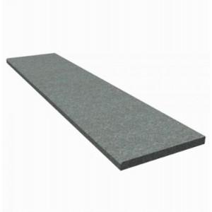"Pakopa granito ""Dark grey"", paviršius-degintas neslidus 120x35x4 cm, vnt"
