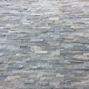 "Akmens panelė ""Grey"" 10x36 cm, m2 (S-forma)"