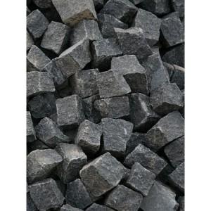 Trinkelės granito juodos ~10x10x5 cm, 1000 kg