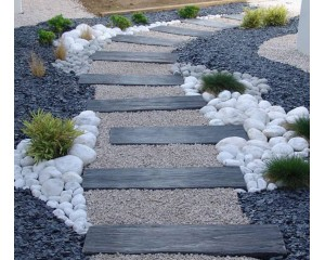 Kaip formuoti takus iš akmenų?