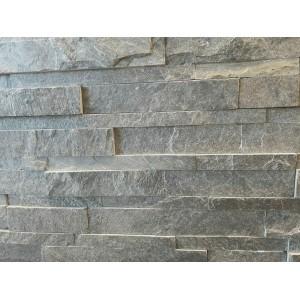 """Akmens panelė """"Amazone Dark"""" 15x60 cm, m2 (S-forma)"""