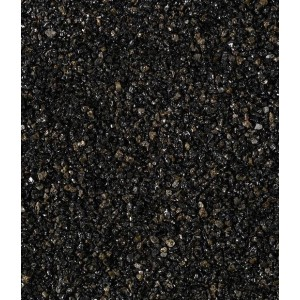 Juoda blizgi dekoratyvinė skalda 1/3 mm, 20 kg